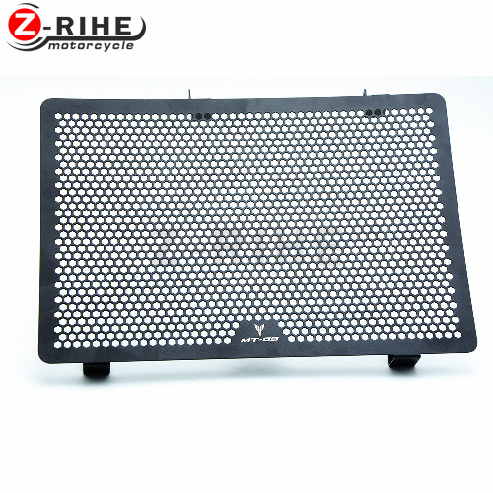 for MT-09 MT09 motorcycle cnc Aluminium Radiator Side Guard Grill Grille Cover Protector For Yamaha YZF R1 YZF R6 FZ1 FAZER R6S for yamaha mt 09 fz 09 mt09 fz09 mt 09 fz 09 hot sale motorbike cnc motorcycle radiator side guard cover protector set