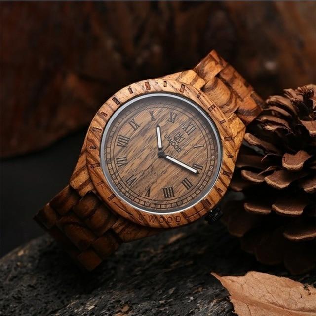 Zegarek męski drewniany uWOOD 5 kolorów