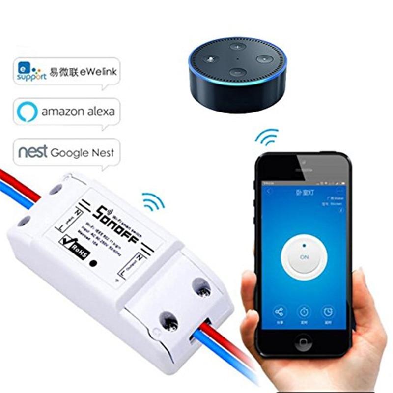 5PCS sonoff themelor Wifi Switch Universal për Modul automatik në shtëpi Modul Timer Diy Wifi Switch Remote Controller për IOS Android
