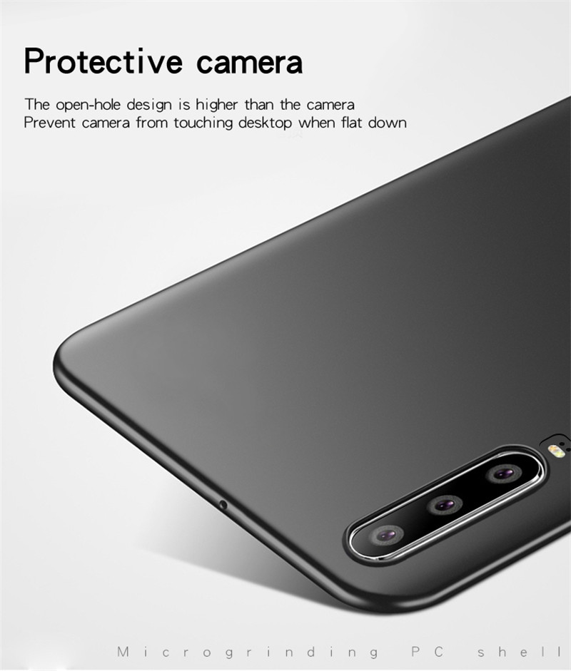 Huawei P30 Lite Case Silm Luxury Ultra Thin Smooth Hard PC Phone Case For Huawei P30 Lite Back Cover For Huawei P30 Lite Fundas in Fitted Cases from Cellphones Telecommunications
