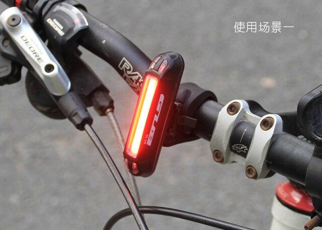 Luci a led per bici da corsa faro anteriore a led per