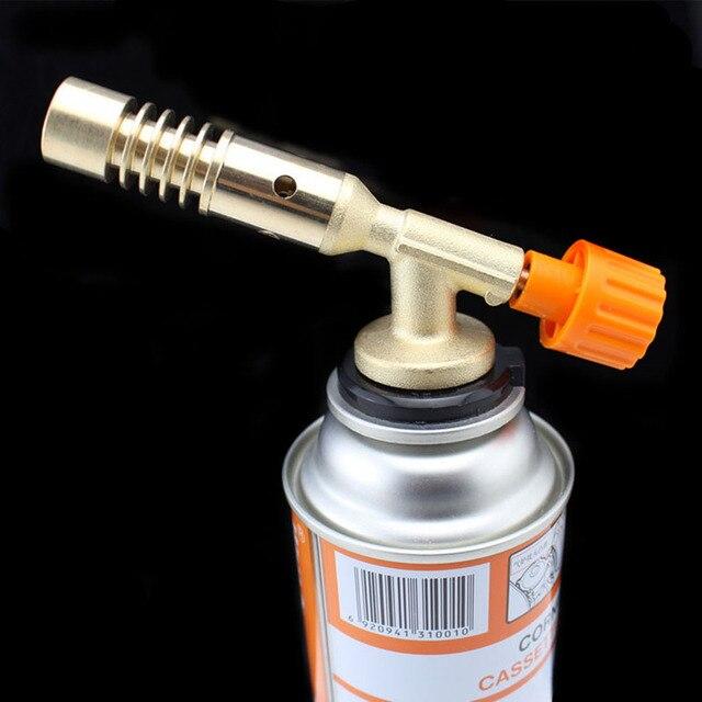 thickened copper bbq guns butane gas blow torch welding gun burner kitchen torch flamethrower soldering cooking - Kitchen Blowtorch