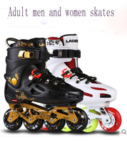 Adult Skating Shoes Flat Shoes Inline Men Women Adult Roller Skates Professional Freestyle Outdoor Boots Sneaker
