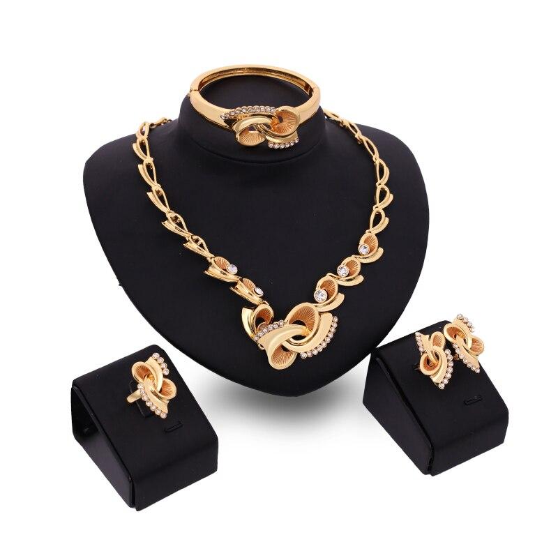 FARLENA Jewelry Gold Color...