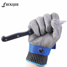 Newest High Performance Stainless Metal Mesh Cut Resistant Gloves for Safety Protection