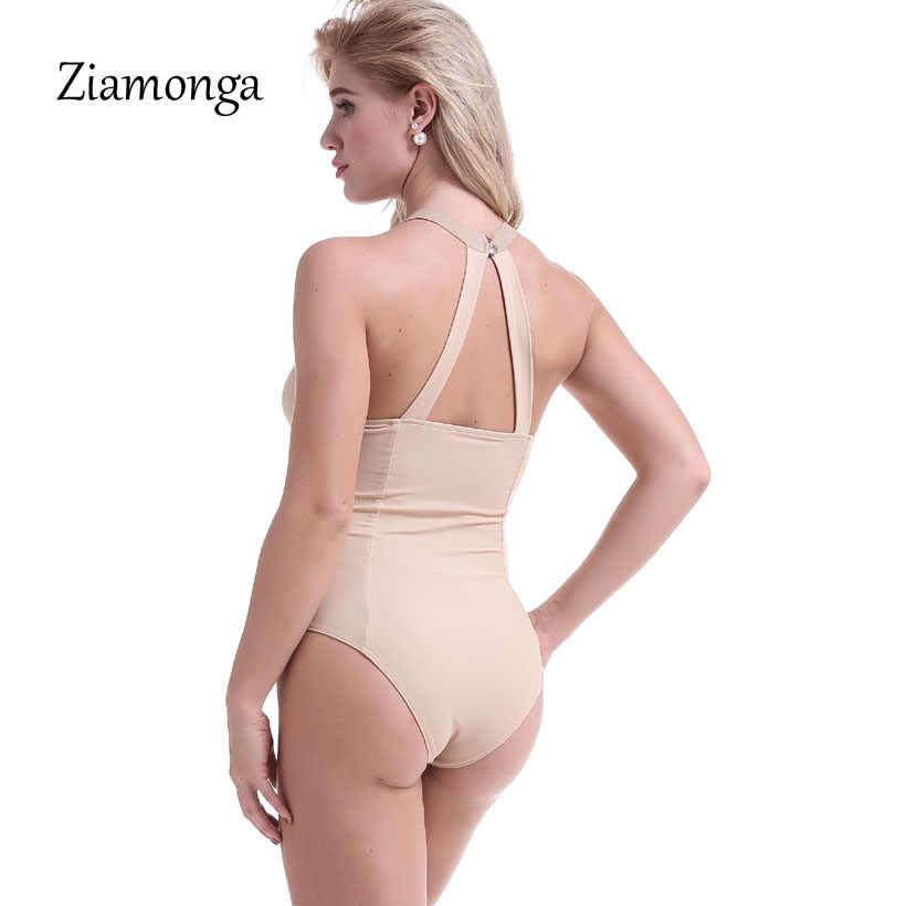 Ziamonga Новый Для женщин О-образным вырезом узор боди Выдалбливают Кристалл пляжная одежда Комбинезоны для малышек Для женщин S Комбинезон Сексуальная заклепки Комбинезоны для девочек Лидер продаж
