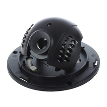 Wholesale Outdoor CCTV Camera Black White Plastic Shell Round Dome Housing