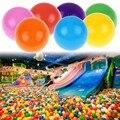 100 unids/lote Baño Del Bebé de Juguete de Colores de Plástico Blando Water Pool Ocean Wave Bebé Bola Juguetes Divertidos Estrés Bola de Aire Al Aire Libre Diversión deportes
