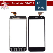 For Alcatel One Touch Idol mini 6012 OT6012 6012A 6012D 6012W 6012X Touch Screen Digitizer Sensor Outer Glass Lens Panel стоимость