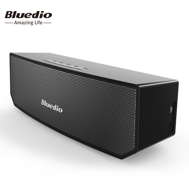 Bluedio BS-3 Original  Mini Bluetooth Speaker Portable Dual Wireless Loudspeaker System with microphone for music and phone call original edifier cinesound b7 media speaker for tv and living rooms with bluetooth optical and aux input wireless speaker