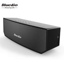 Bluedio BS-3 D'origine Mini Bluetooth Haut-Parleur Portable Double Sans Fil Système Haut-Parleur avec microphone pour la musique et un appel téléphonique