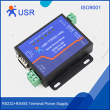 USR-TCP232-410S Serial Device Servers RS232 RS485 to RJ45 Ethernet Modbus RTU to Modbus TCP support webpage/DHCP free shipping