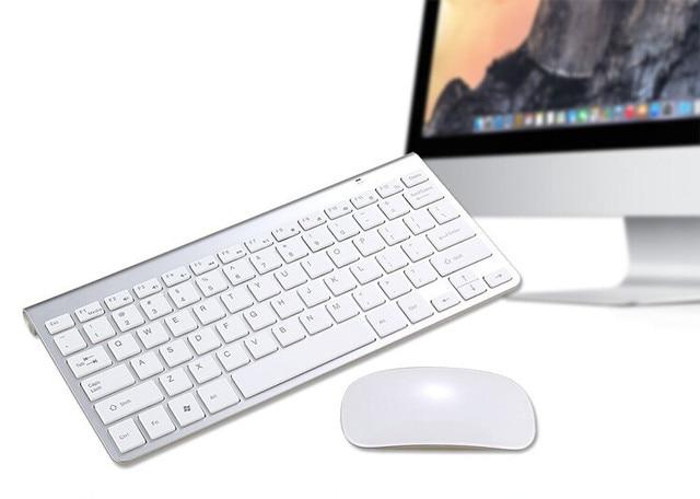 Maorong trading souris et clavier sans fil set clavier de bureau à