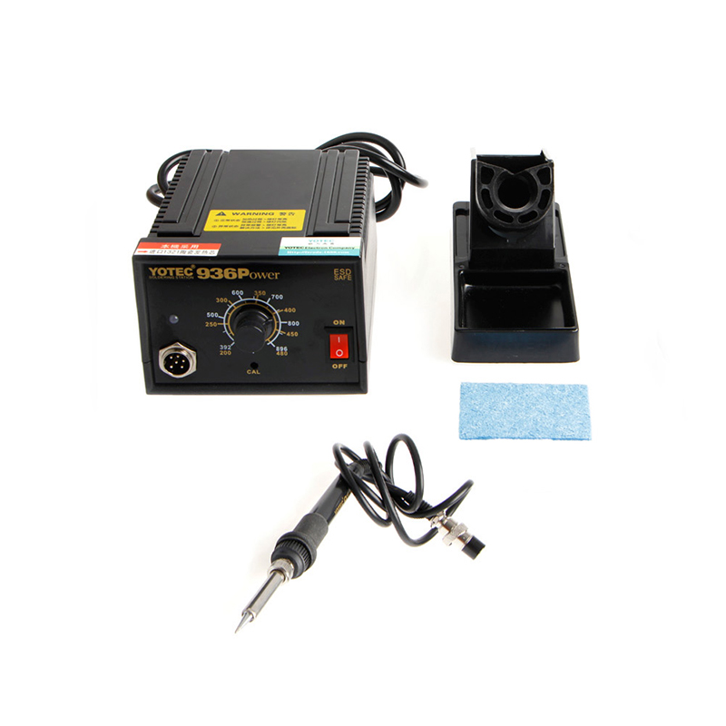 936Power 110V 220V Electric Soldering Station SMD Rework Welding Iron With Stand