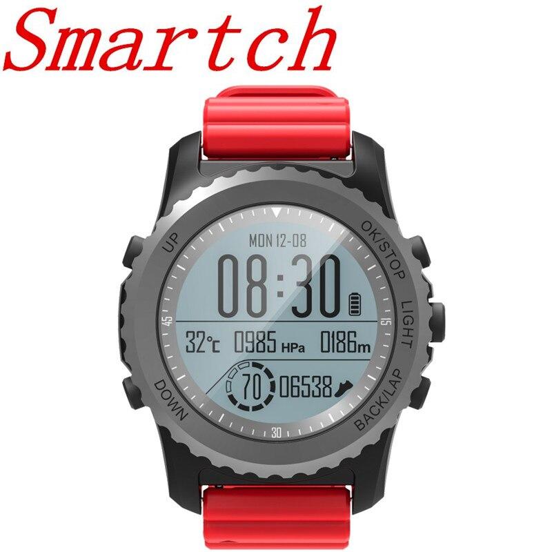 Smartch Professionnel GPS Sport En Plein Air Montre Smart Watch S968 Sport Montre-Bracelet IP68 Étanche De Natation Snoeling Fréquence Cardiaque Fitness Tr