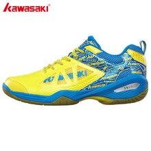 Original Kawasaki Men's Badminton Shoes 2017 Breathable Anti-slipper Sneakers Women Sports Shoes K-337