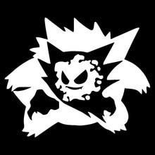 14.2*11.7CM Pokemon Gengar Evolution Car Styling Stickers