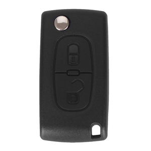 Image 2 - DANDKEY 10p ASK 2 Buttons Remote Flip Car Key For Peugeot 207 307 308 407 For Citroen 433MHz PCF7961 HU83 Blade ID46 CE0536
