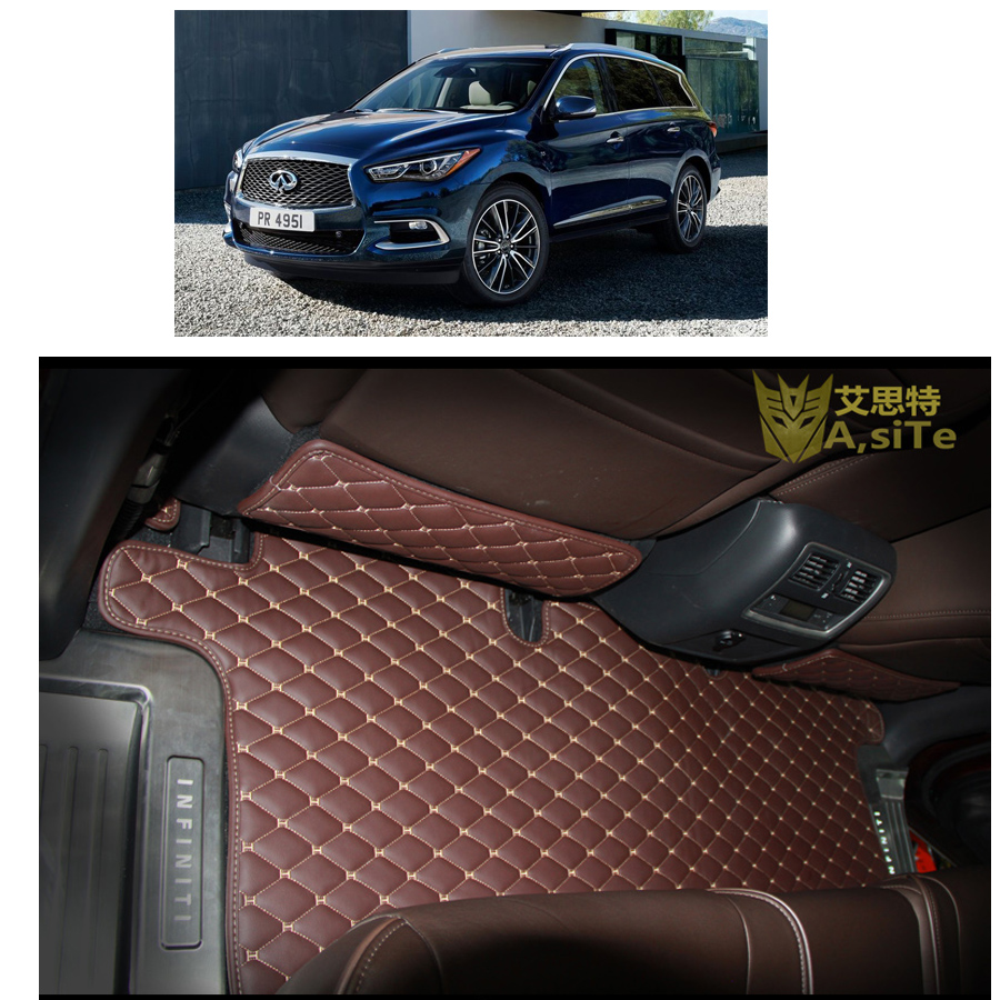 Floor mats qx60 - Free Shipping Pu Leather Car Floor Mats Rug Carpet For Infiniti Qx60 Jx35 2012 2013 2014 2015 2016 7 Seats Lhd Rhd In Floor Mats From Automobiles