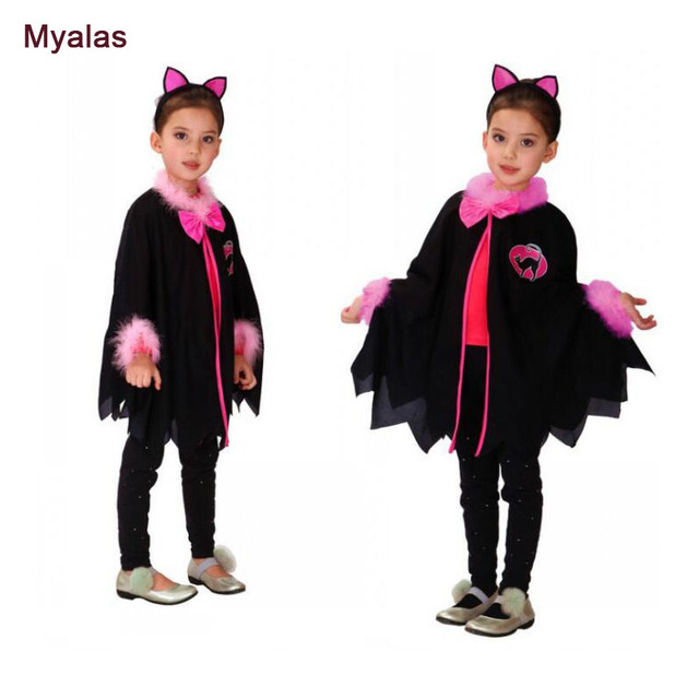 girl cat christmas clothing carnival party animal costume children cat cosplay movie kids masquerade anime fantasia - Christmas Movie Costumes