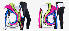women cycling Bike Jerseys UV resistant fleece fabric GEL Pad Breathablter bicycles bike clothing