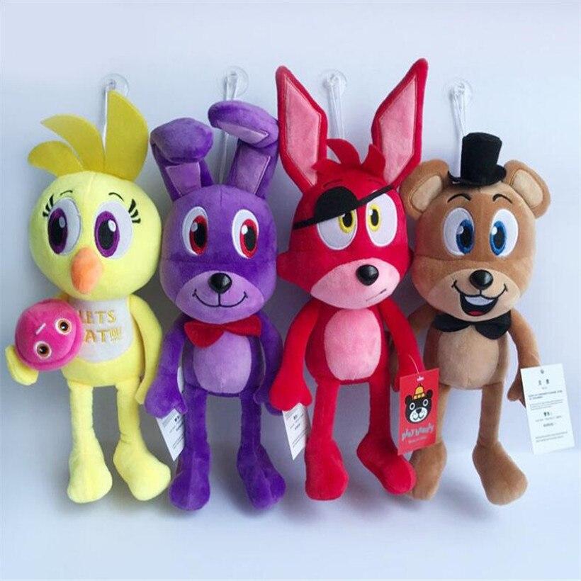 30 CM High Quality Newest Kawaii Anime Five Night At Freddy Plush Toys Doll Stuffed Toys ...