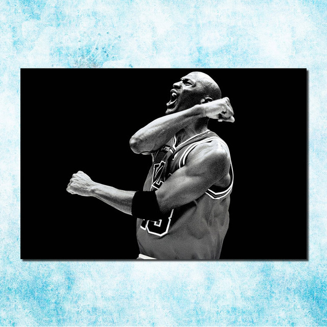 Michael Jordan Shoes Mj 23 Chicago Bulls Nba Mvp Basketball Silk Canvas Poster 13×20 24x36inch Picture Room