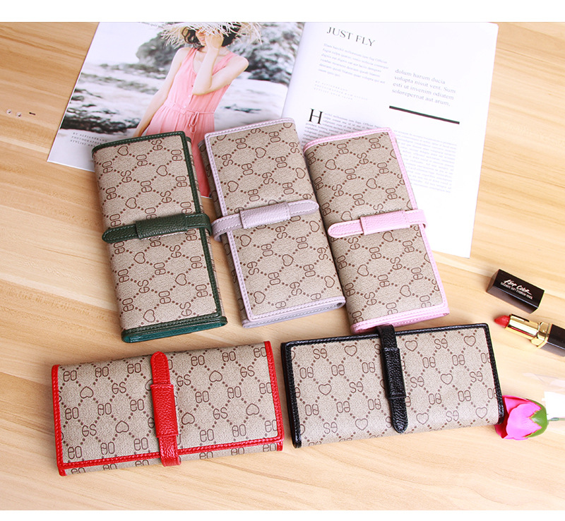 Wallet Card-Holder Money-Bag Coin Purse Wristlet Fashion Luxury Brand Women Female