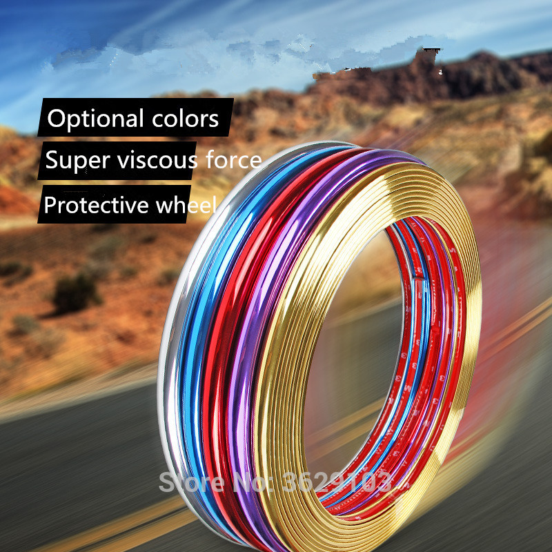 8m car-styling upgrade plating contour decorative adhesive paste for Volvo xc60 s60 s80 s40 v60 v40 xc90 v70 xc70 v50