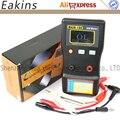 Бесплатная доставка Обновление MESR-100 Автозапуск ESR конденсатор/Низкий Ом в конденсатор в цепи метр до 0,01 до 100R