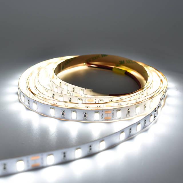 US $49 8 |2600LM Bright Original LM561 5630 LED strip Light DC24V 21W Per  Meter 300leds/5M/Reel 60 65LM/led Free Shipping-in LED Strips from Lights &