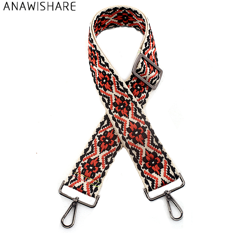 ANAWISHARE Bag Straps Handbag Belt Wide Shoulder Bag Strap Replacement Strap Accessory Bag Part Adjustable Belt For Bags 120cm belt