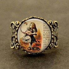 Alice in wonderland Watch 1pcs/lot fantasy once upon a time