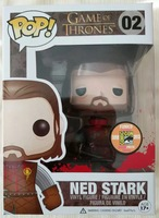 2013 SDCC Exclusive FUNKO POP Official Movies Game Of Thrones Headless Ned Stark Vinyl Action Figure