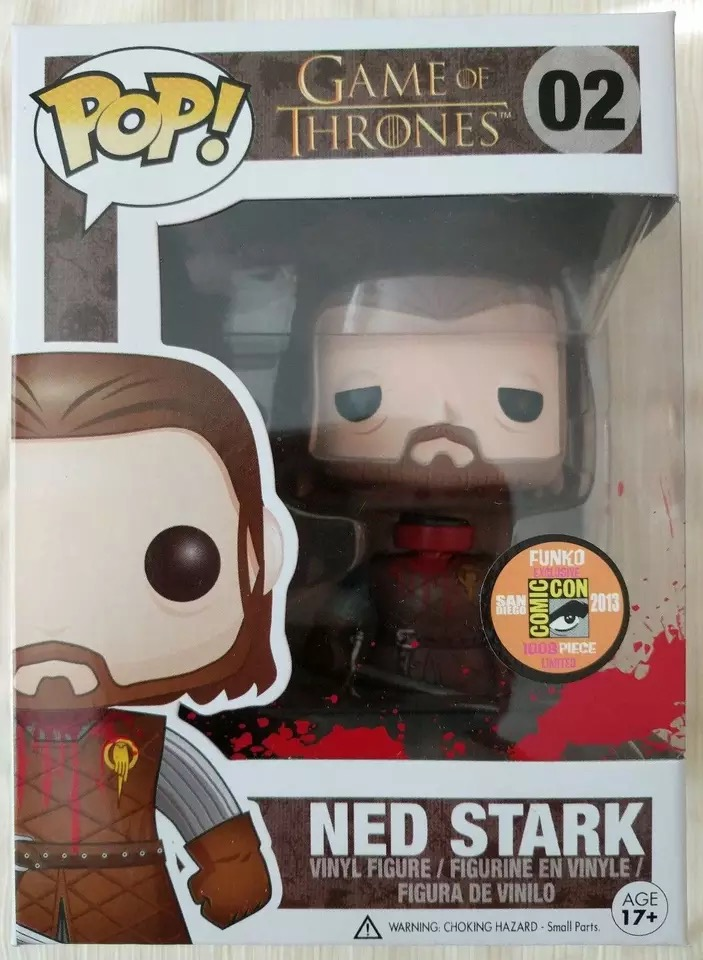 2013 SDCC Exclusive FUNKO POP Official Movies: Game of