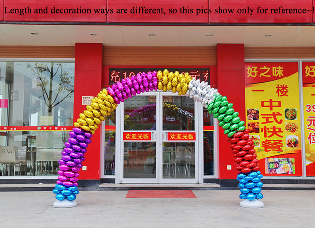 Balloons arch set for wedding party decorations supplies meeting balloons arch set for wedding party decorations supplies meeting graduation ceremony with round gold red purple junglespirit Gallery