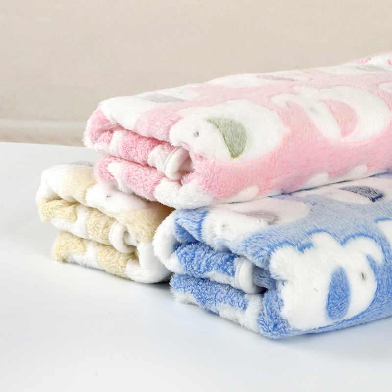 Коврик для животных мягкий теплый коралловый флисовый принт дизайн ПЭТ щенок собака кошка коврики одеяло для сна кровать диван Чехол товары для домашних животных DOGGYZSTYLE