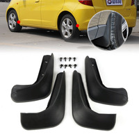 Tracking New Black High Quality Mud Flap Splash Guards Mudguard Mudflaps Fenders Fit For Honda Fit
