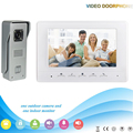 Chuangkesafe . .V70H-M3 1V1 7 Inch security Intercom system Video Door Phone  work with electronic door Intercom System