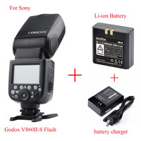 Godox Ving V860II V860II S E TTL HSS 1/8000 Li ion Battery Speedlite Flash For Sony A7 A7S A7R A7RII A58 A99 A6000 MI Shoe DSLR