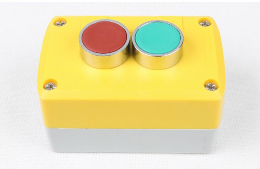 The two button box XB2 flat button rainproof and dustproof start stop button switch BE101C BE102C se schlesinger schlesinger stop drinking and start living
