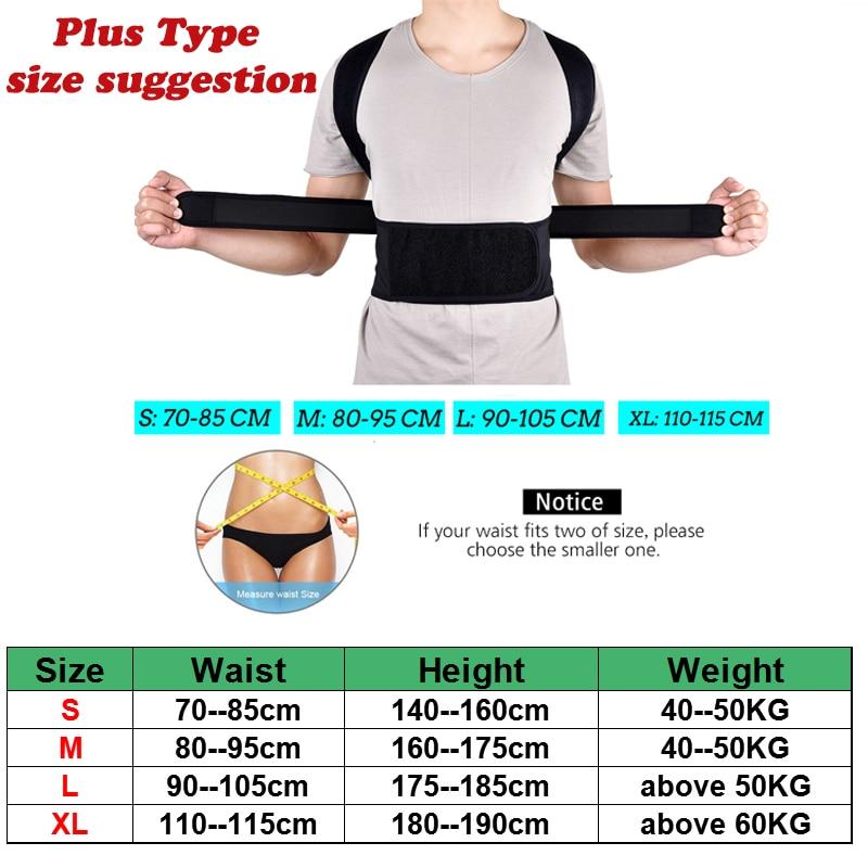 HTB1aBMOX2WG3KVjSZFgq6zTspXaX - Back Posture Corrector Shoulder Lumbar Brace Spine Support Belt Adjustable