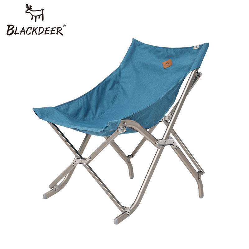 BLACKDEER Portable Folding Fishing Stable Camping Chair Aluminium Alloy Seat for Hiking Outdoor Active Bear Over 110kg