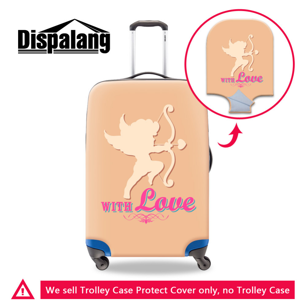-Valentine\'s Day Luggage Protective Cover (4) Waterproof Elastic Luggage Protective Cover For 20 to 30 inch Trolley Suitcase Protect Dust Bag Case Travel Accessories Supplies