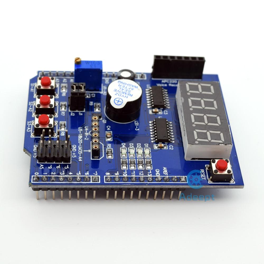 Adeept New New Multifunktions-Erweiterungskarte Schild für Arduino - Intelligente Elektronik - Foto 4