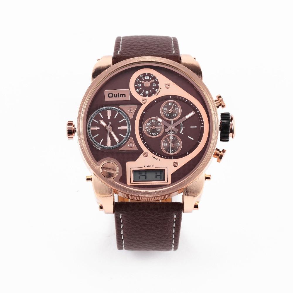 Orologi Designer Del Tempo oulm orologi maschio orologio 55 millimetri 3 tempo di