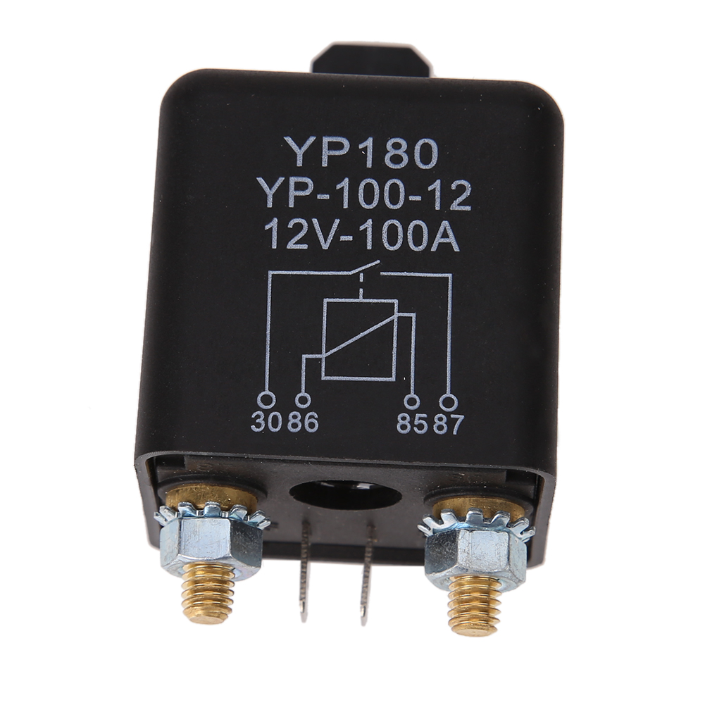 Car Truck Motor Automotive high current relay 12V 200/100A 2.4W Continuous type car Automobile relay
