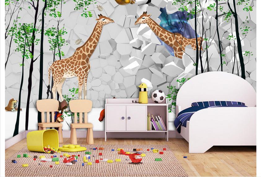 Popular wallpaper murals kids buy cheap wallpaper murals for 3d wallpaper children