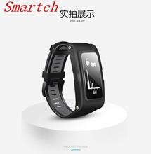 Smartch T28 Bluetooth Smart Браслет, GPS браслет, пульс Мониторы, 0.96 дюймов LED Большой Экран, спортивной деятельности Фитнес трекер