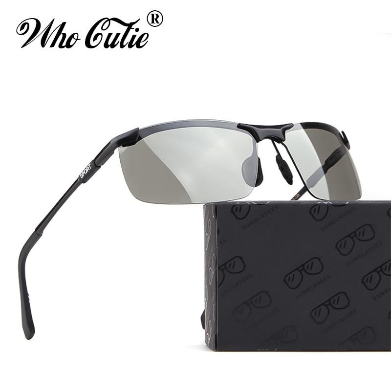 c9a49a285e 2019 gafas de sol rectangulares polarizadas para hombre, gafas de sol para  hombre, gafas deportivas para conducir, gafas de visión nocturna amarillas  OM834